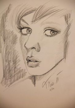 20 minutes sketch 5 by TinasArtwork