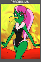 ObscuriJam 2016 04 Instant Martians Lady  by theEyZmaster