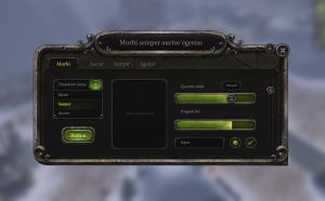 Game gui set by brainchilds