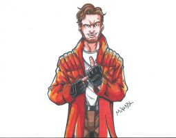 Star Lord Scan by MikeES