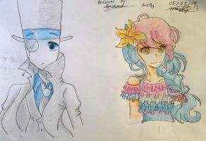 VILLAINOUS The Beauty (White Hat and Clemencia) by MaskyMask2004