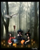 Samhain ENTRY by Isselinai