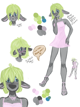 New OC sketchdump by shimmer-thestral