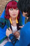 Hak Covers Yona with Coat [Cosplay] by firecloak