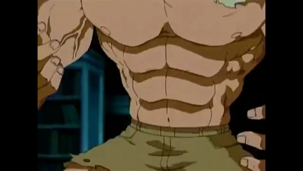 martin mystery muscle growth 4 by Artmaster6778757