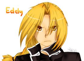 Edward Elric color~ by lemonkitty1