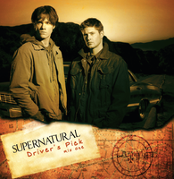 Supernatural CD Front Cover by BlueFire986