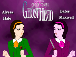 Alyssa and Bates {CT Ghost Head in Disney version} by Astrogirl500