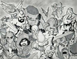 Clash Of Clans Assemble by Justheretouploadart