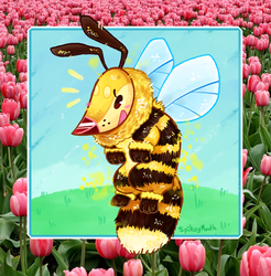 IT'S A BEE DOG by The-Spikey-Mouth