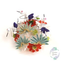 January Maiko Kanzashi - January 2016 by Arleen