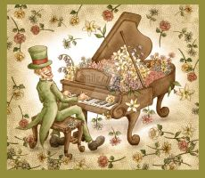 Flower Piano by Zzzeus