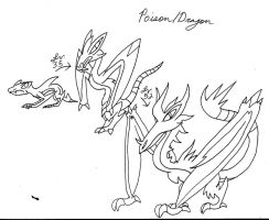Poisonous Dragons by Emissary4Penguins