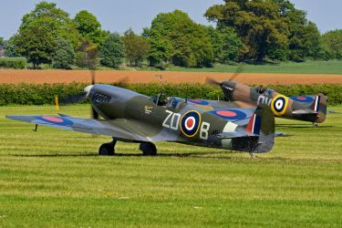 Spitfire Pair by Daniel-Wales-Images