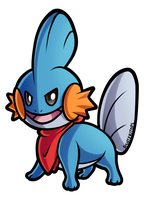 Mudkip Commission by PrinceofSpirits
