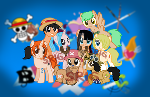 Straw Hat Crew by SuperRosey16