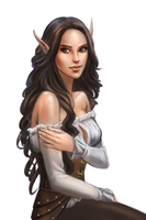 Commission : A Florist Elf from World of Warcraft by ForeverMedhok