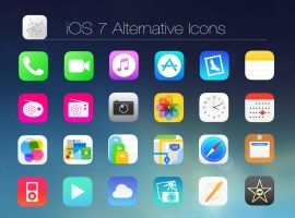 iOS 7 Alt Icons by dtafalonso