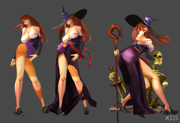 Dragons Crown - Sorceres by Marcelievsky