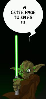 Marque Page Yoda by knail