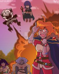 The Slayers Gang by theamazingkitkatt
