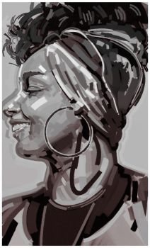 Alicia Keys by RemiMcCrea