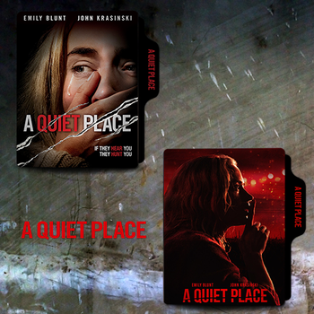 A Quiet Place (2018) Folder Icon by van1518