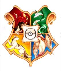 Pokemon Hogwarts Shield by RoCkBaT
