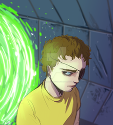 evil morty sketch by eggswithbenefits