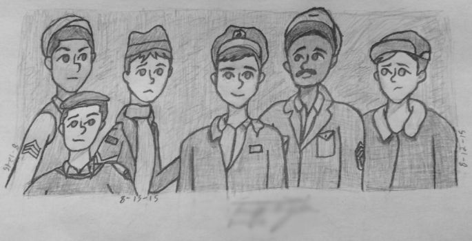 Hogan and His Heroes (Sketch) by vent456789