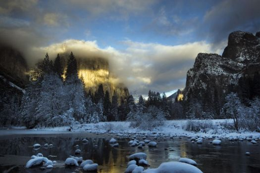 Yosemite Winter 2009 6 by ECaputo