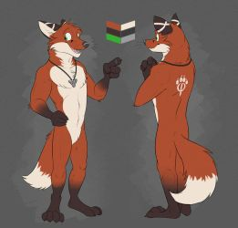 Commission: Arty's Reference Sheet by Temiree