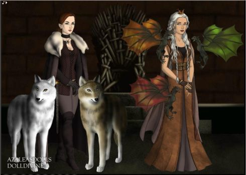 Game Of Thorns 10 Years Later by Zi2000