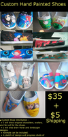 Custom Shoe Comission Info by Marchen-de-lune