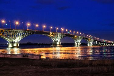 Night Saratov by Smallvillerus