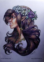 Color with Kellee ~ Elf by I-Am-A-Flying-Bird