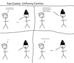 Unfunny Comic by weapontron