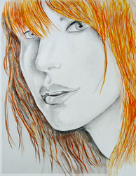 Hayley Williams by TheCaptainMat