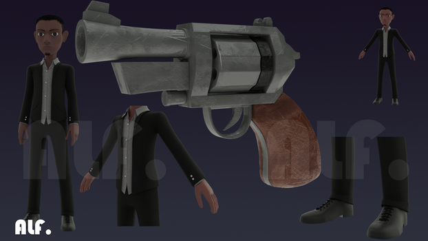 Agent Hady Concept3 by taemart
