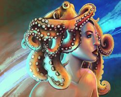 Octopus: Revisited by Of-Red-And-Blue