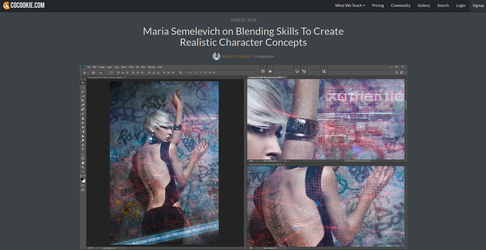 Blending Skills To Create Realistic Character by MariaSemelevich