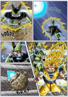 -DBM- Goku VS Cell page 03 by DBZwarrior