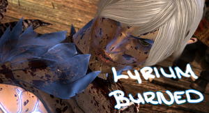 Lyrium Burned Banner by FullElven