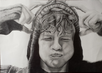 Jay McGuiness, adorable grimace by GokkiVanGogh