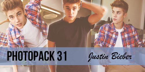 Photopack 31. Justin Bieber. by PhotopackHQ