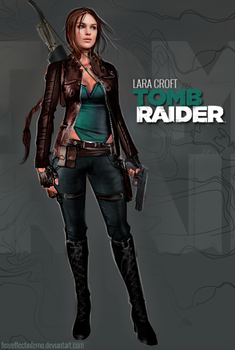 My version of Reboot Lara Croft by FearEffectInferno