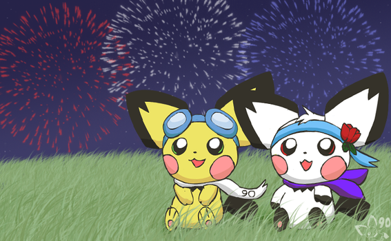 4th of July by pichu90