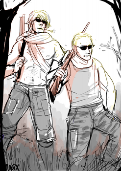 ivan and putin being badass by marr-marr
