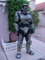 My finished Master Chief Armor by MasterChief42283