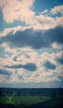 .morning clouds. by multicolorlips
